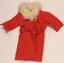 Vintage Barbie Orange Velvet Coat Fur 1510 Sears Exclusive 1970s Glamour Group