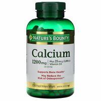 Calcium Plus Vitamin D3, 1,200 mg, 220 Rapid Release Softgels