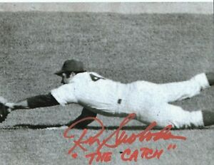 "Ron Swoboda HAND Signed 8x10 Baseball ""The Catch"" NY Mets Autograph Photo"