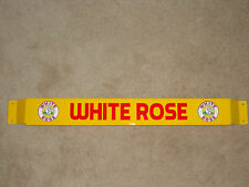 XL 33'' Door push bar retro antique vintage White Rose gasoline
