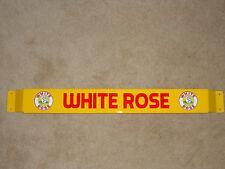 Door push bar retro antique vintage White Rose gasoline sign advertsing