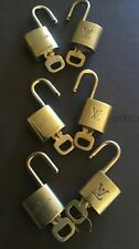 Louis Vuitton Brass Lock and key Set