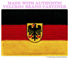 GERMAN EAGLE FLAG PATCH GERMANY DEUTSCHLAND Aufnäher w/ VELCRO® Brand Fastener