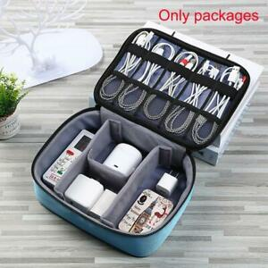 Travel Cable Bag Usb Gadget Organizer Charger Wires Cosmetic Storage Pouch hot.
