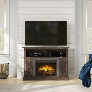Ameriwood Home 1794296COM Farmington Electric Fireplace TV Console