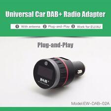 Universal Car DAB DAB+ Radio Receiver Tuner FM Transmitter Plug-and-Play Adapter