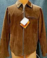 Men's Genuine Timberline Suede Leather Coat  Size Med NWT