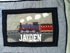 "NEW Pottery Barn Kids ""Thomas The Train"" Standard Quilted Pillow Sham"