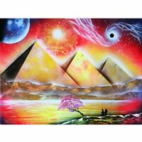 Pyramids Landscape Diamond Painting Lovely Artwork Embroidery Design Decorations