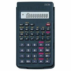 Value Scientific Calculator 10-Digit LCD Black