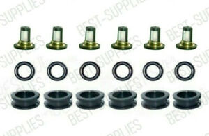 Fuel Injector Service Kit Filters O-Rings Grommets for 06-08 Suzuki Grand Vitara