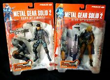 McFarlane Toys Metal Gear Solid 2 Set of 6 Figures Bonus Metal Gear Ray New 2001