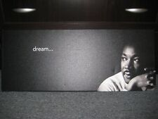 """DR. MARTIN LUTHER KING JR. """"Dream"""" 12x30 Canvas Print 1/1 ONLY ONE MADE!!"""