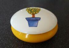 BONBONNIERE, boite a bijoux Porcelaine Limoges Jammet Seignolles  diam. 11 cm