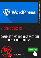 Complete Wordpress Website Developer Course video tutorial training course