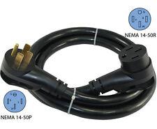 30'   50 amp RV Camper Extension Power Cord w/ Power Indicat   RL15306