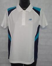 New balance chicos Camisa Polo Camisa Polo ritmo Tamaño Superior 12 años de edad blanco #4295