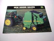 5 John Deere Hay Tools, Balers, Mower Conditioner Brochures, 88 Pages Total, Ex#