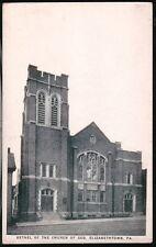 Elizabethtown Pa Bethel of Church of God 1922 Vtg Postcard Old B&W Pc