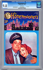 THE HONEYMOONERS #1 CGC 9.8 JACKIE GLEASON PHOTO CVR CULT CLASSIC 1950'S TV SHOW