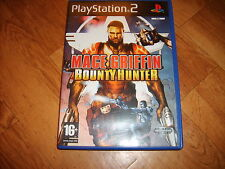 MACE GRIFFIN BOUNTY HUNTER JEU PLAYSTATION PS2 PAL version Française complet BEG