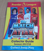 Topps Match Attax 2017 2018 Complete Full Team Sets cards
