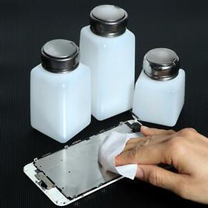Pump Dispenser Empty Bottle Nail Art Polish Acetone Remover UV GEL Cleaner  h ot