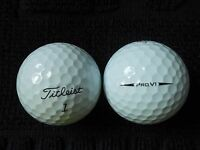 "20 TITLEIST  PRO V1 - ""BLACK ARROW"" -2018/19 MODEL -Golf Balls- ""PEARL/A"" Grades"