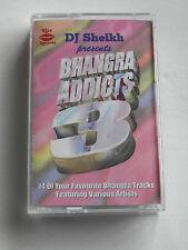 Bhangra Addicts 3 - DJ Sheikh (Bhangra) - Cassette Tape, Used Very Good