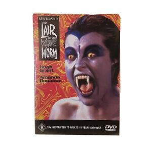 Ken Russel's The Liar of the White Worm RARE Misprint 18+ DVD 1988 Gothic Horror