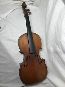 Old Antique 4/4 Violin Copie Stradivarius 1721 Conservatory Made In France