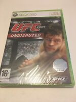 🤩 xbox 360 neuf blister officiel pal fr ufc 2009 undisputed free worldwide ship