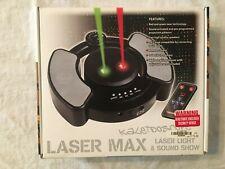 A Laser Max Kaleidoscope Spencer's laser light & sound show NIB