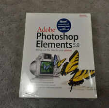 Adobe Photoshp Elements 5.0 Academic Edition for Windows XP and Vista 2006