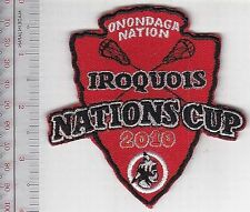 American Indians USA & First Nation Canada Lacrosse Iroquois Cup 2010 Onondaga