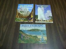Brochures Yellowstone, wild flowers & Grand Canyon 3 Northwest
