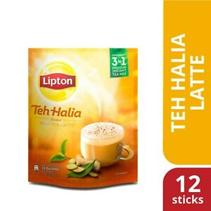LIPTON GINGER MILK TEA LATTE 3 IN 1 ( 12 STICKS )