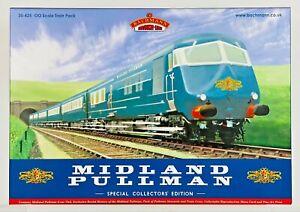 BACHMANN 00 GAUGE - 30-425 - MIDLAND BLUE PULLMAN 6 CAR NANKING BLUE BOX SET