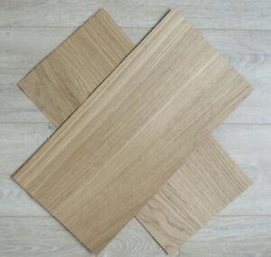 "Oak wood veneer, 3 sheets, ~45 x 20cm  (~17.7 x 7.87"")  0.6mm (~1/42″)"