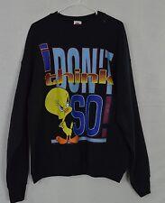 90s Looney Tunes Tweety I Don't Think So Graphic Sweatshirt Women's 18/20 USA