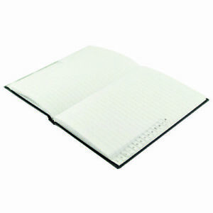 Casebound Index Notebook 96 Pages A6 A-Z Hardback