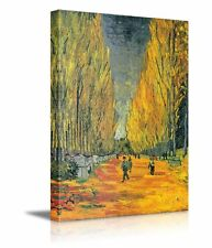 Les Alyscamps by Vincent Van Gogh - Oil Painting Reproduction on Canvas -24 x 36