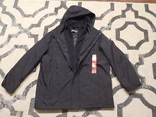 Kennith Cole Reaction Black mens coat jacket XL Extra Large