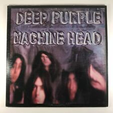 "Deep Purple – Machine Head EX VINYL LP BS 2607 ""STEREO"" TERRE HAUTE PRESS"