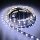 5M 300 Leds 7020 SMD Pure White LED Strip SMD Light Non-Waterproof 12V DC 35LM