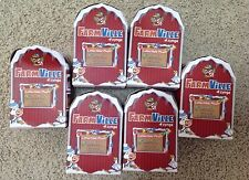 zynga farmville plush lot of 6 new