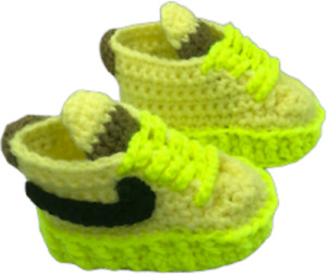 Air Force Off White Volt Infant Baby sneakers Crochet  Boy Girl baby Shoes