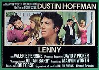 T72 Fotobusta Lenny Dustin Hoffman Bob Fosse Valerie Perrine 4