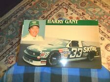 "Vintage HARRY GANT #33 Skoal Lacquered Wood Sign Plaque 16"" X 10"" VG !"