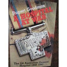 History 2/ 4th Australian General Hospital 1940-45 AGH WW2 Book Tobruk